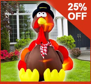 Turkey inflatable